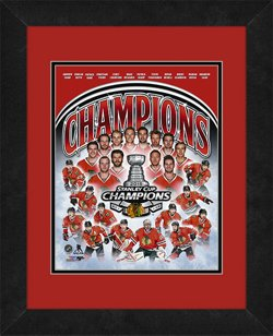 "Photo File Chicago Blackhawks 2015 Stanley Cup Champions 8"" x 10"" Photo"