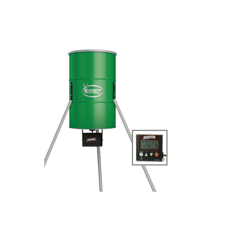 American Hunter 350 lb. Tripod Deer Feeder with Digital Timer - Feeder Parts And Accessories at Academy Sports thumbnail