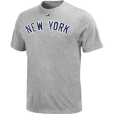 sneakers for cheap 77da0 554ac Majestic Men's New York Yankees Official Wordmark T-shirt