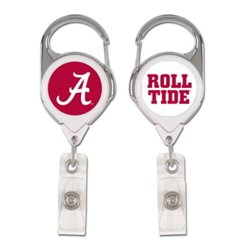 WinCraft University of Alabama 2-Sided Retractable Premium Badge Holder