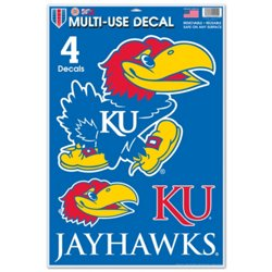WinCraft University of Kansas Multi-Use Decals 4-Pack