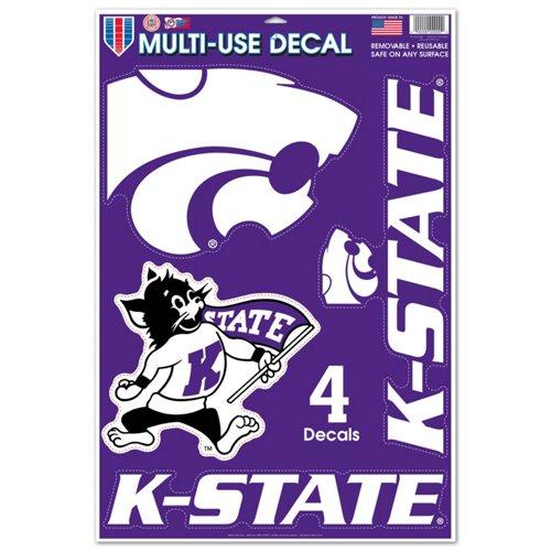 WinCraft Kansas State University Multi-Use Decals 4-Pack