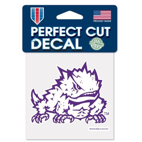 WinCraft Texas Christian University Perfect Cut Decal