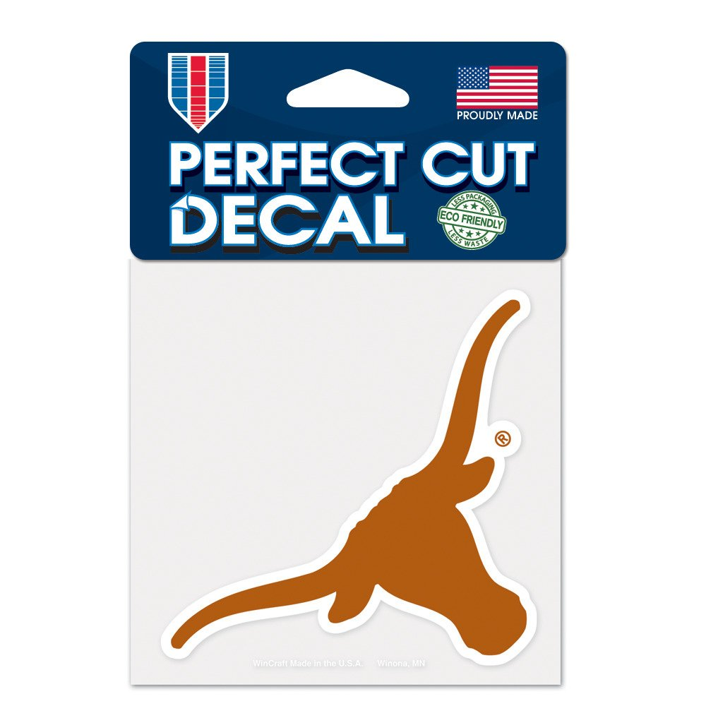 Display product reviews for WinCraft University of Texas Perfect Cut Decal