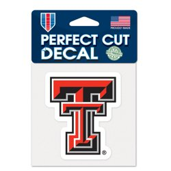WinCraft Texas Tech University Perfect Cut Decal
