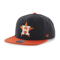 '47 Men's Houston Astros Sure Shot 2-Tone Snapback Captain Cap