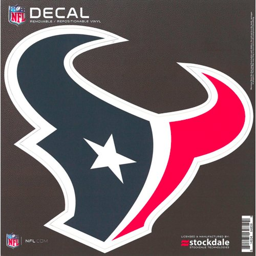 Stockdale Houston Texans 6' x 6' Decal