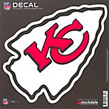 "Stockdale Kansas City Chiefs 6"" x 6"" Decal"