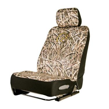 Ducks Unlimited Seat Covers >> Ducks Unlimited Mossy Oak Low Back Neoprene Seat Cover Academy