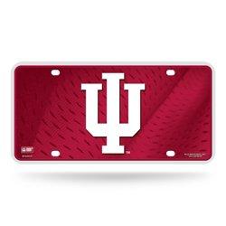 Rico Indiana University Metal Auto Tag