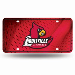 Rico University of Louisville Metal Auto Tag