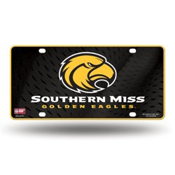 Rico University of Southern Mississippi Metal Auto Tag