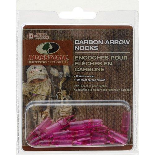 Mossy Oak Carbon Arrow Nocks 12-Pack