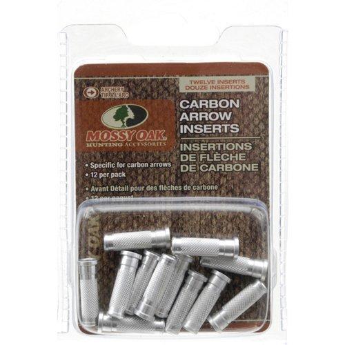 Mossy Oak Carbon Arrow Inserts 12-Pack
