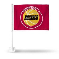 Rico Houston Rockets Retro Car Flag