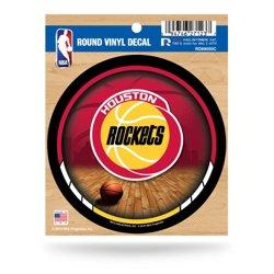 Rico Houston Rockets Retro Logo Round Decal