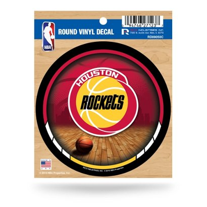 64a2dec09c1 ... Houston Rockets Retro Logo Round Decal. Rockets Accessories.  Hover/Click to enlarge