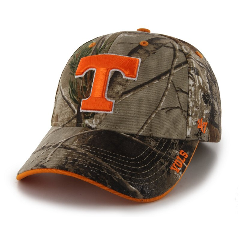 '47 Adults' University of Tennessee Realtree Frost Camo MVP Cap Green/Brown - Ncaa Men's Caps at Academy Sports thumbnail