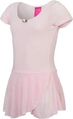 Capezio Girls' Future Star Short Sleeve Skirtall