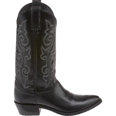 57003b4ea65 Justin Men's Calfskin Round Toe Western Boots