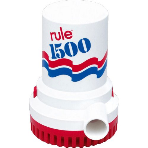 Rule 1,500 gph Bilge Pump