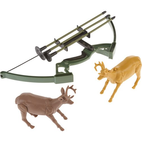 New-Ray Toys Wild Hunting Bow and Arrow with Deer Set