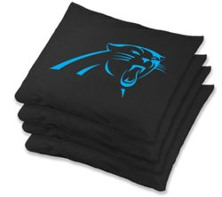 Wild Sports Carolina Panthers Bean Bags 4-Pack
