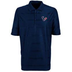 Antigua Men's Houston Texans Illusion Polo Shirt