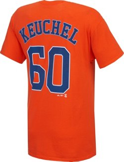 Majestic Men's Houston Astros Dallas Keuchel #60 T-shirt