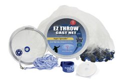 Fitec Super Spreader EZ1000 5' EZ Throw Mesh Cast Net