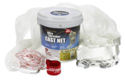 Fitec Super Spreader GS1000 8' Mesh Cast Net with Tape