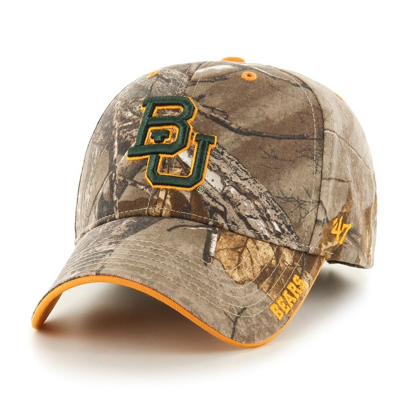 '47 Adults' Baylor University Realtree Frost MVP Cap Green Dark/Light Green - NCAA Men's Caps at Academy Sports thumbnail