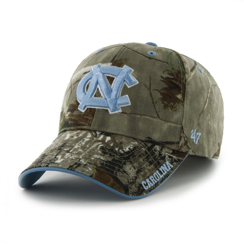 '47 Adults' University of North Carolina Realtree Frost '47 MVP Cap (Green Dark/Light Green, Size One Size) – NCAA Licensed Product, NCAA Men's Caps at Acade…