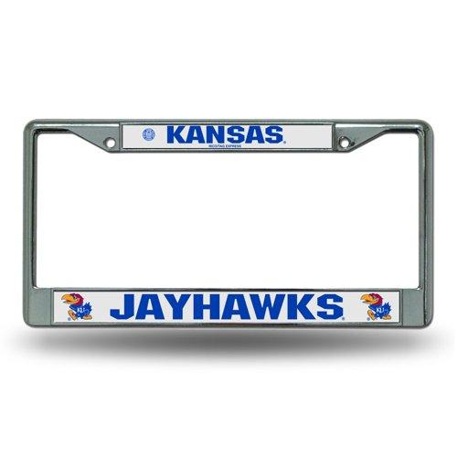 Rico University of Kansas Chrome License Plate Frame