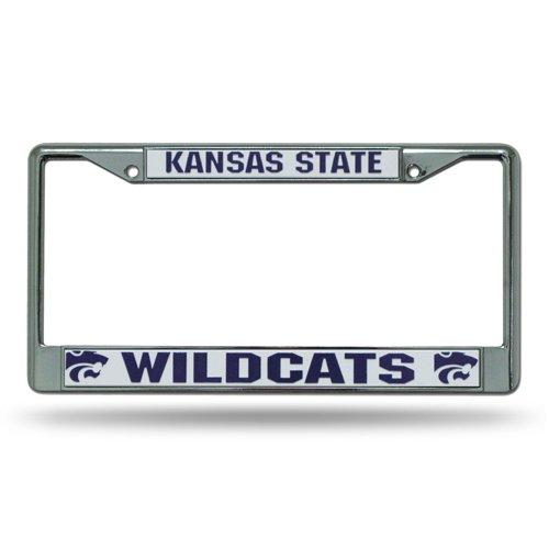 Rico Kansas State University Chrome License Plate Frame