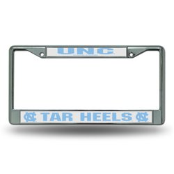 Rico University of North Carolina Chrome License Plate Frame