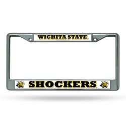 Rico Wichita State University Chrome License Plate Frame