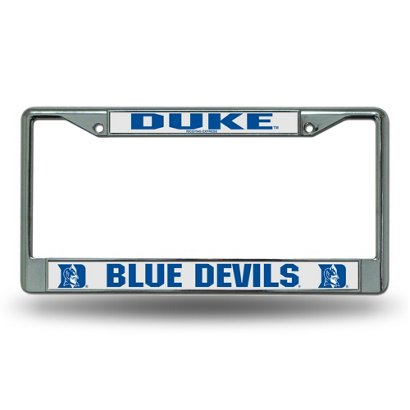 Rico Duke University Chrome License Plate Frame | Academy