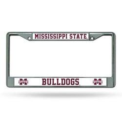Rico Mississippi State University Chrome License Plate Frame