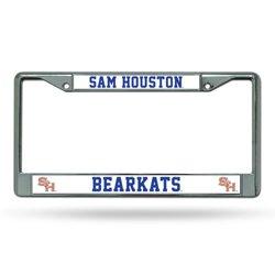 Rico Sam Houston State University Chrome License Plate Frame