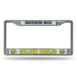 Rico University of Southern Mississippi Chrome License Plate Frame