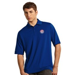 Antigua Men's Texas Rangers Exceed Polo Shirt