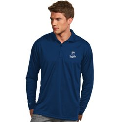 Antigua Men's Kansas City Royals Exceed Long Sleeve Polo Shirt
