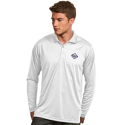 Antigua Men's Tampa Bay Rays Exceed Long Sleeve Polo Shirt