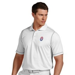 Antigua Men's Texas Rangers Icon Polo Shirt