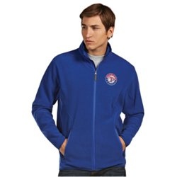 Antigua Men's Texas Rangers Ice Fleece Jacket