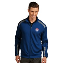 Antigua Men's Texas Rangers Flight Jacket