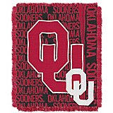 The Northwest Company University of Oklahoma Double Play Triple-Woven Jacquard Throw