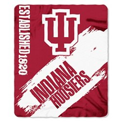 The Northwest Company Indiana University Painted Fleece Throw