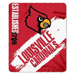 The Northwest Company University of Louisville Painted Fleece Throw